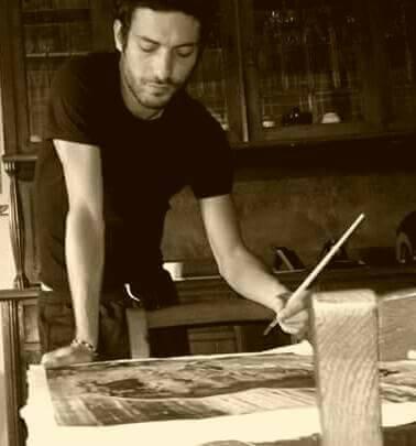 Andrea Butera in studio