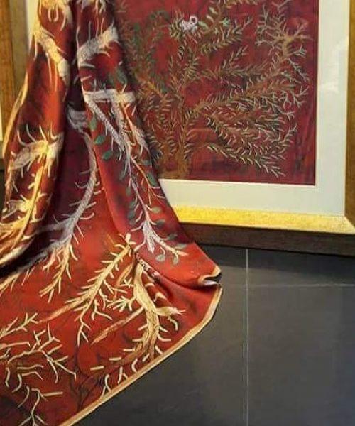 dal dipinto scoiattolo ,il foulard
